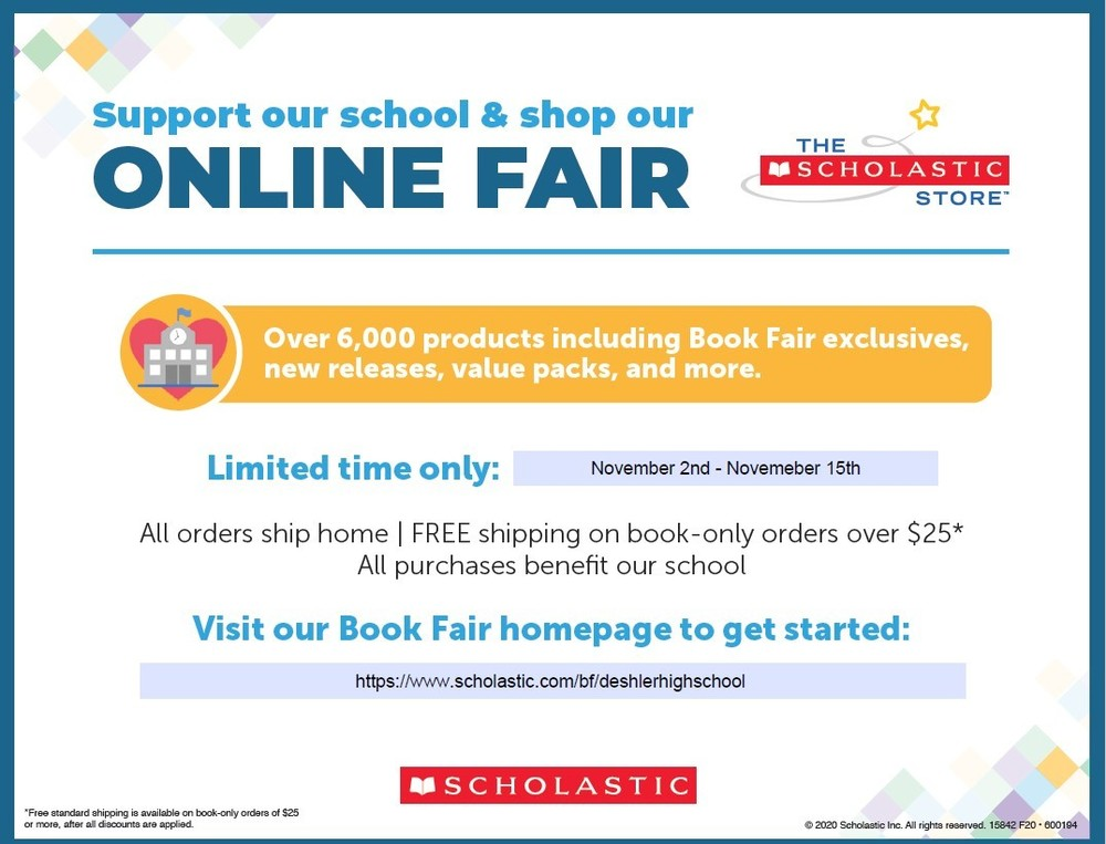 Coming Soon: 2020 Online Book Fair