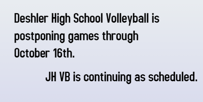 HS volleyball update