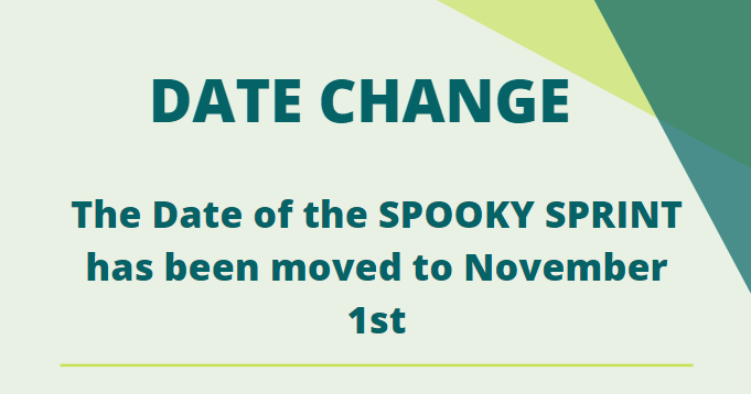 spooky sprint date change